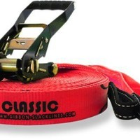 Gibbon Red Classic Slackline Kit - 15 meters - Free Shipping at REI.com