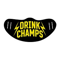 Drink Champs Varsity Face Mask