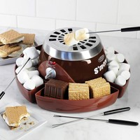 Nostalgia Electrics Flameless S'mores Maker (Brown)