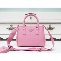 Prada Newest Popular Women Leather Handbag Tote Crossbody Shoulder Bag Satchel