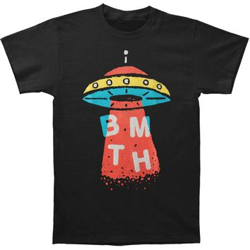 Bring Me The Horizon Men's  Alien Slim Fit T-shirt Black