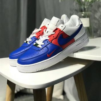 """Nike Air Force 1 "" Unisex Sport Casual Multicolor Low Plate Shoes Couple Fashion Sneakers"