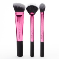 Real Techniques 3-pc. Makeup Brush Sculpting Set (Pink)