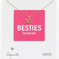 Dogeared 'Reminder - Besties Forever' Boxed Pendant Necklace   Nordstrom