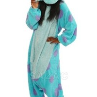Sulley Kigurumi - Adult Costume:Amazon:Clothing