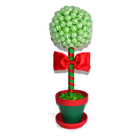 Ready to Ship Christmas Lollipop Centerpiece, Christmas Centerpiece, Christmas Table, Centerpiece, Candy Buffet, Christmas, Lollipop, Candy