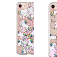 Unicorn Glitter iPhone Case