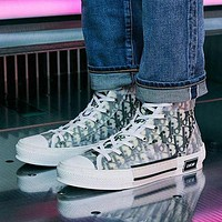 DIOR Letter recreational sneakers shoes