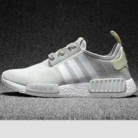 """Women """"Adidas"""" Fashion Trending Beige And Gray Leisure Running Sports Shoes Grey"""