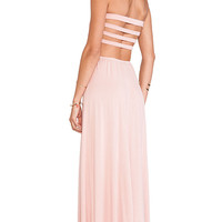 Lovers + Friends All Yours Dress in Mauve