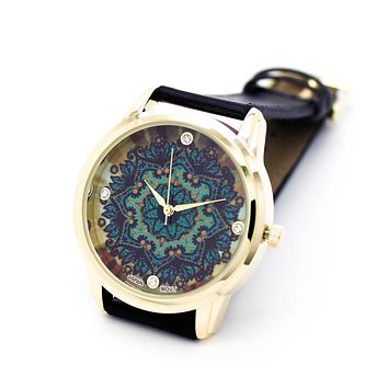 Bohemian strap watch (2 colors)