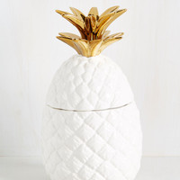 Just Anana Day in Paradise Container | Mod Retro Vintage Decor Accessories | ModCloth.com