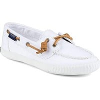 Women's Sayel Away Shoe in Washed White by Sperry
