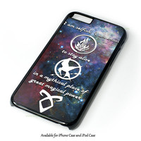 Divergent, Mortal Instrument, And Hunger Game Design for iPhone and iPod Touch Case