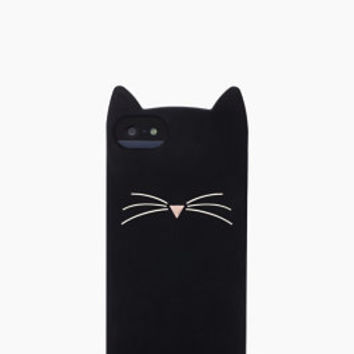 black cat silicone iphone 5 case - kate spade new york