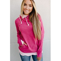 Ampersand Ave. Double Hoodie (Petals & Promises) FINAL SALE