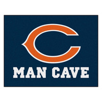 Chicago Bears NFL Man Cave All-Star Floor Mat (34in x 45in)