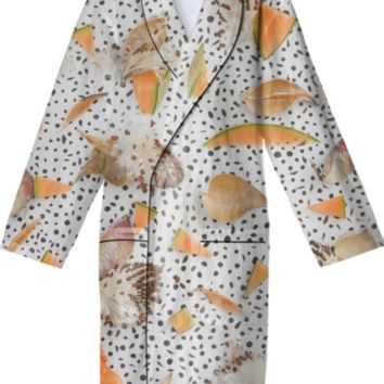 COZY CANTALOUPE AND MILKWEED created by lellopepper | Print All Over Me