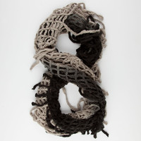 Ombre Fringe Infinity Scarf 245132320 | Scarves