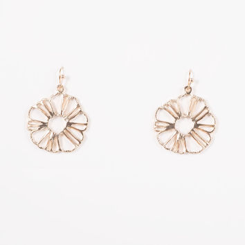 Ilima Bloom Earrings In Gold