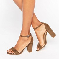 New Look Barely There Heel at asos.com