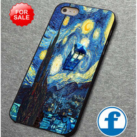 Tardis Doctor Who Starry Night for iphone, ipod, samsung galaxy, HTC and Nexus Phone Case