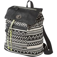 Mossimo Supply Co. Aztec Print Backpack - Black
