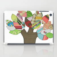 Button Tree iPad Case by Erin Brie Art