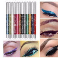 12Pcs/Set Pen 12 colos Eye Shadow Lip Liner Eyeliner [9768377615]
