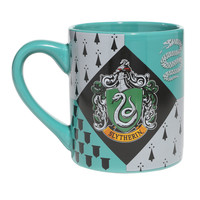 Harry Potter Slytherin House Crest Ceramic Mug