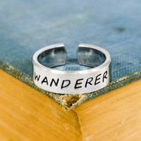 Wanderer - Hiking - Compass - Adjustable Aluminum Ring