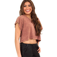 Earth to Touch T-Shirt Crop