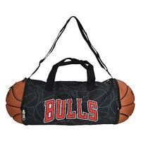 Licensed Official Brand New NBA Chicago Bulls Gym Training Duffel Ball Bag Large