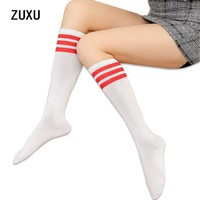 Harajuku and knee socks female half tube socks were thin and pure color students half socks college wind socks