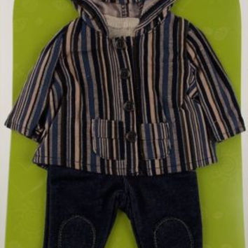 """Adora Friends Fashions 18"""" Doll Clothes Town Country 2 Jacket Riding Pants NEW"""