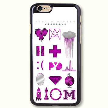 Justin Bieber Journals Protective Phone Case For iPhone case, C1210