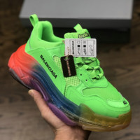 Balenciaga Triple S Sneaker Clunky Shoes with BOX