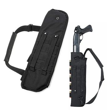 Outdoor Shotgun Scabbard Shoulder Bag Fishing Hunting Accessory Bag Container