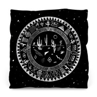 Inside the Desert Throw Pillow