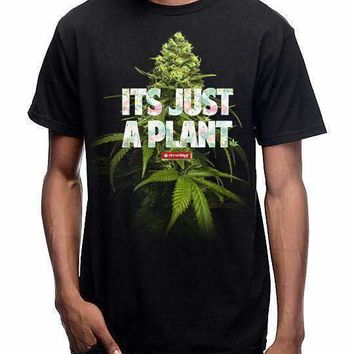 MEN'S ITS JUST A PLANT TEE