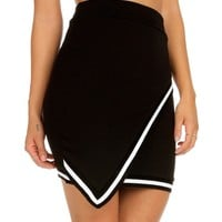 Sale-black Envelope Skirt