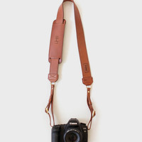 Custom James Leather Camera Strap