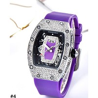 RICHARD MILLE 2019 new women's high-end full diamond ladies quartz watch #4