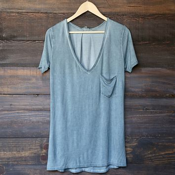 Tease Me Oversized Soft V-Neck T-Shirt in More Colors