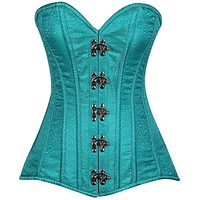 Daisy Corsets Top Drawer Brocade Steel Boned Corset w/Clasps
