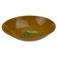 """Reduce Melaboo 12"""" Large Serving Bowl Gold Biodegradable Bamboo Eco Friendly"""