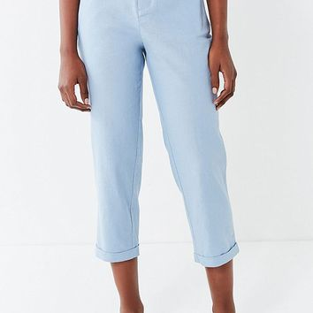 UO Grace Linen Cropped Pant   Urban Outfitters