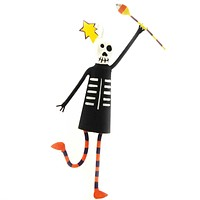 Halloween SKELETON Resin & Metal Ornament 68299 CANDY CORN