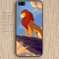 iPhone 5s 6 case colorful lion case phone case iphone case,ipod case,samsung galaxy case available plastic rubber case waterproof B289