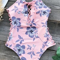 Cupshe The Best Of Youth Print One-piece Swimsuit